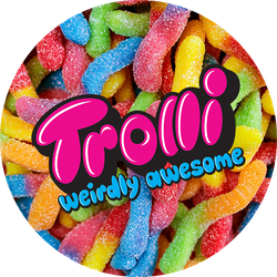 Trolli Brite Sour Crawlers Badge
