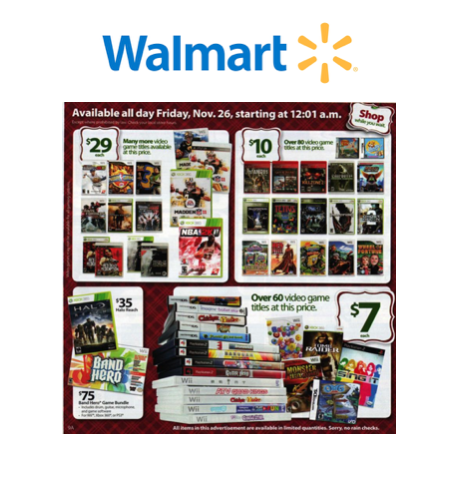 Video Games on Rollback at Walmart.com!