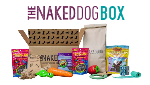 Make pet parenting easy with the Naked Dog Box! Only for Influenster members, get your first box for $9!