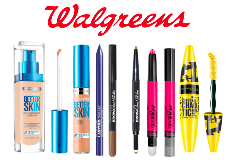 Buy one get one 50% off all Maybelline products