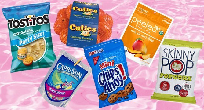 10 Snacks to Bring to The Beach