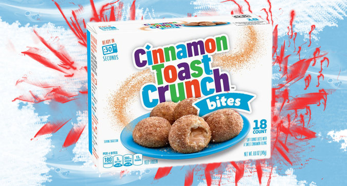 Cinnamon Toast Crunch Bites Look Like Our New Snack of Choice