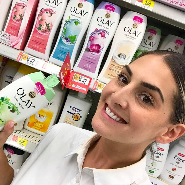 Get It While It's Hot: Olay Body Wash is on Rollback at Walmart