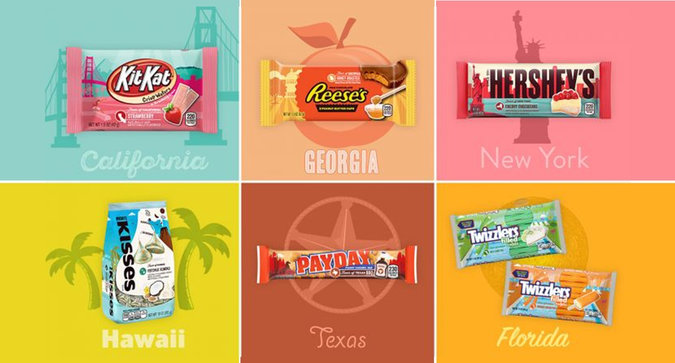 Hershey's Launches State-Inspired Chocolate