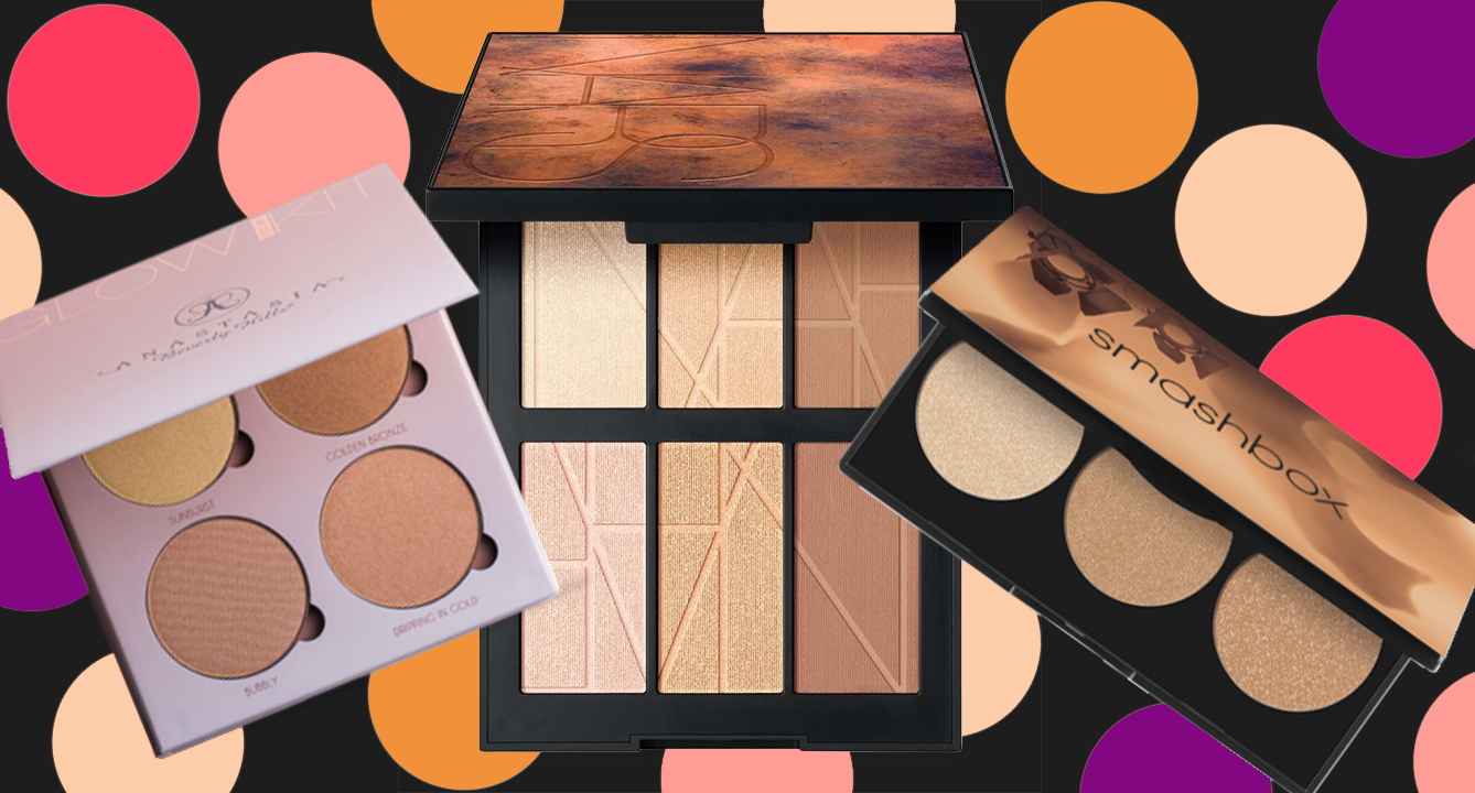 Great Highlighting Palettes for a Glowing Face: 125K Reviews