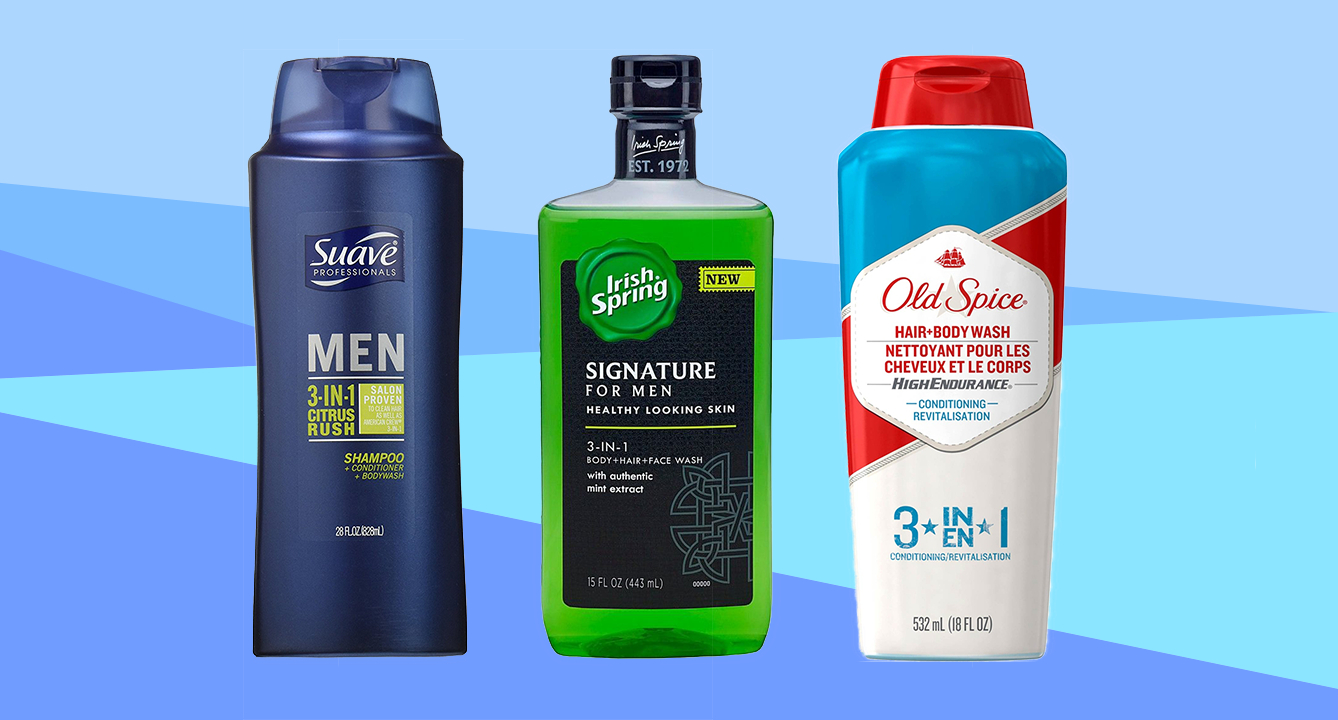 The Best Drugstore 3-in-1 Body Washes for Men