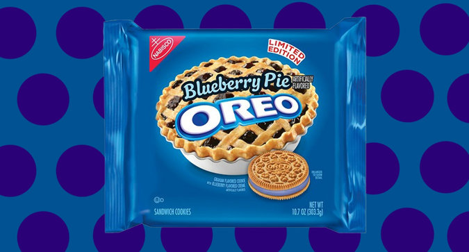 Blueberry Pie Oreos Are Back