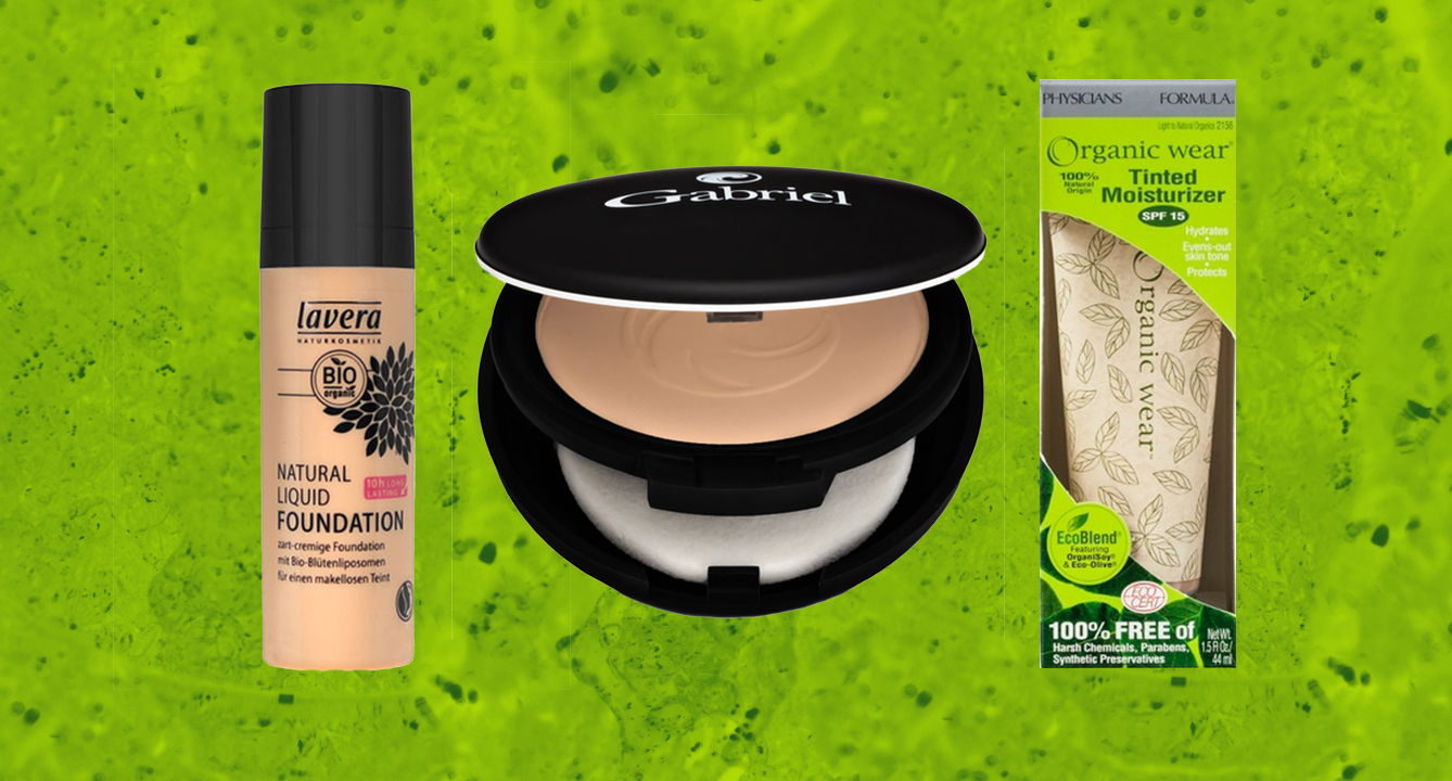 The Best Organic Foundations