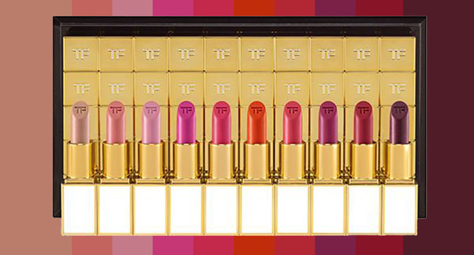 Tom Ford Launched 50 Female-Inspired Lipsticks