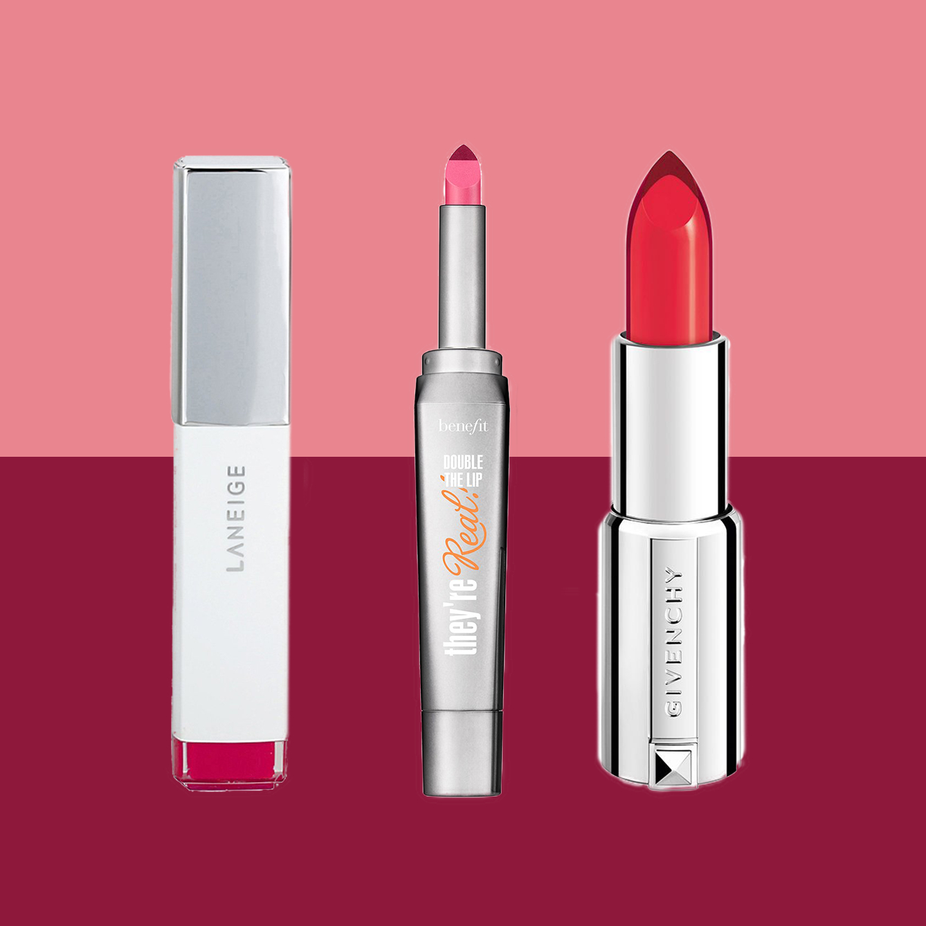 Two-Toned Lipstick is the Summer Trend You Need