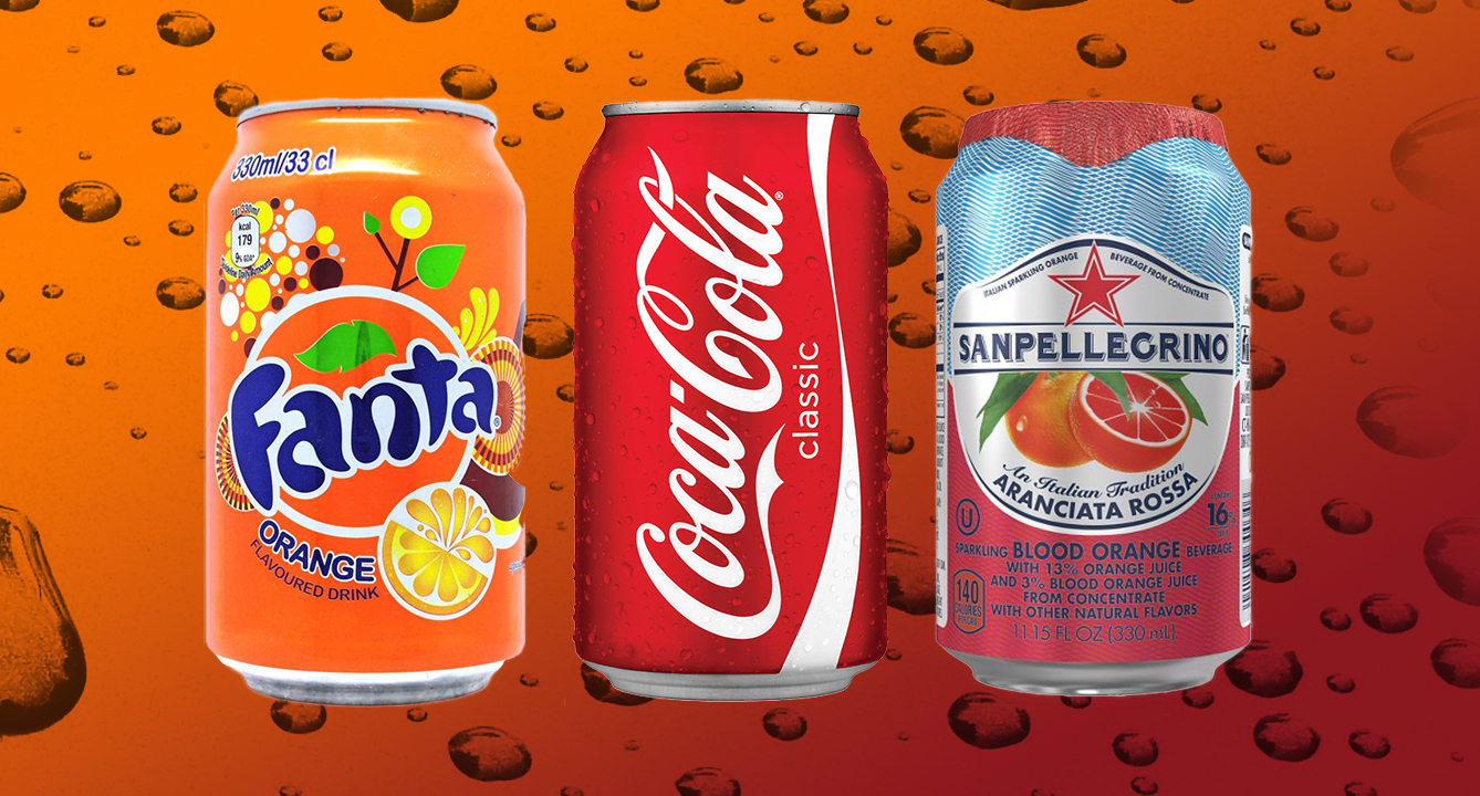 The Most Popular Fizzy Drinks