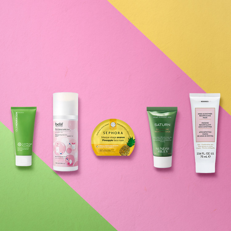 5 Face Masks for Fighting Breakouts and Unclogging Pores