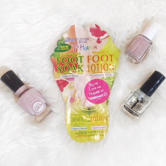 Influensters Showing Off Their Pedicure Essentials