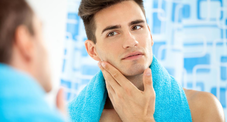 Clean shaved men 8