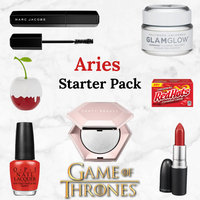 Check Our Your Aries Starter Pack