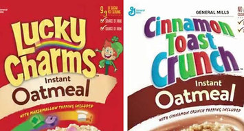 Lucky Charms and Cinnamon Toast Crunch Oatmeal is Here!