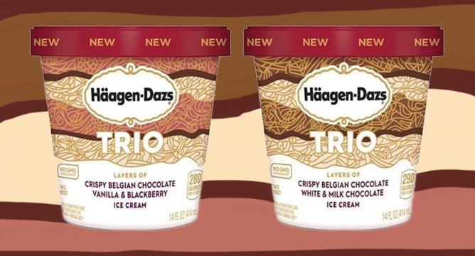 We're Drooling Over Häagen-Dazs New Trios