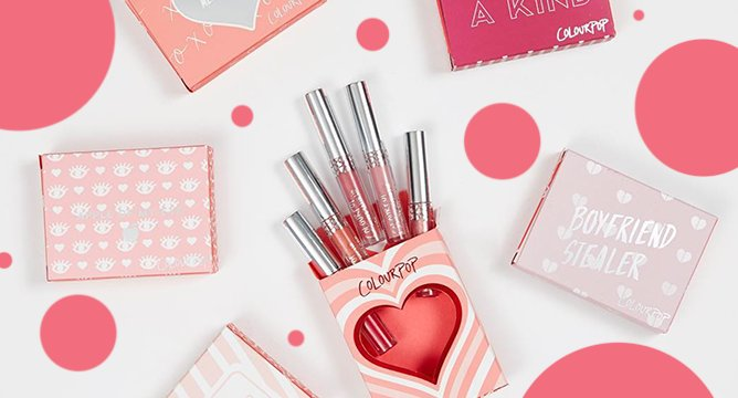 ColourPop's Valentine's Day Collection is the Perfect Gift to Give Yourself