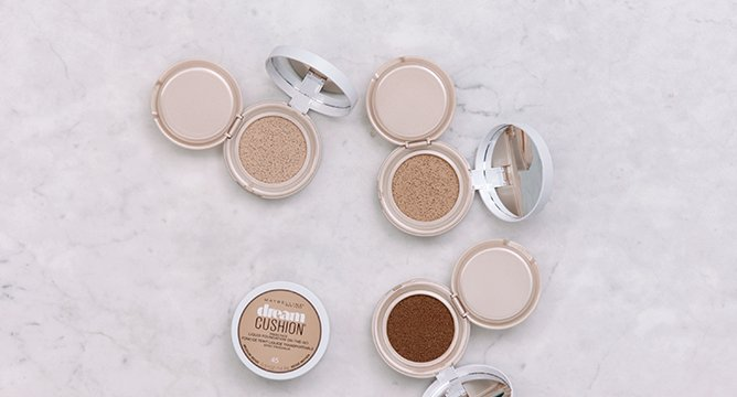 How to Get a Fresh Faced Makeup Look with Maybelline Dream Cushion™