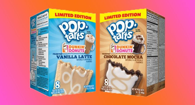 This Dunkin' Donuts and Pop-Tarts Collab is Everything
