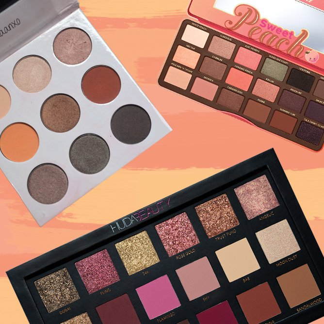 You Need to Wear One of These Romantic Eyeshadow Palettes Tonight