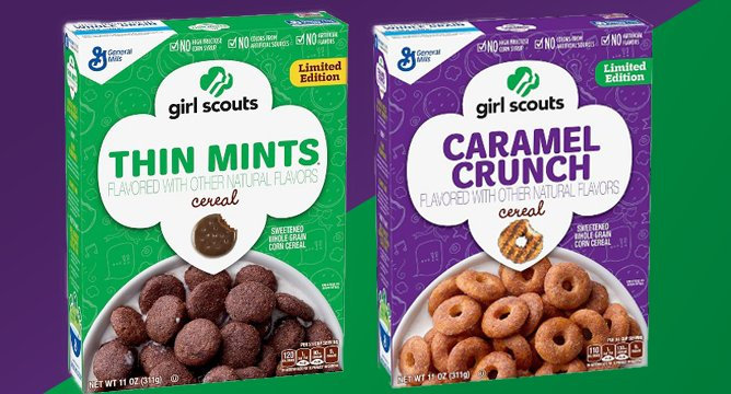 Girl Scouts Cereal Will Make Your Mornings Better