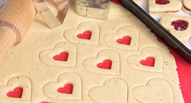 Cute Heart-Shaped Dessert Recipes for Valentine's Day