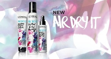 VoxBox Alert: L'Oréal Air Dry It