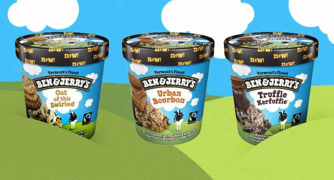 OMG. Ben & Jerry's Has New Flavors