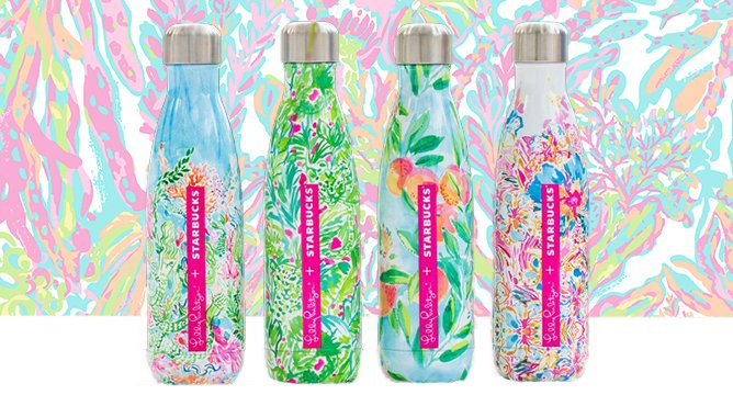 Parched? Preppy Water Bottles Are Happening