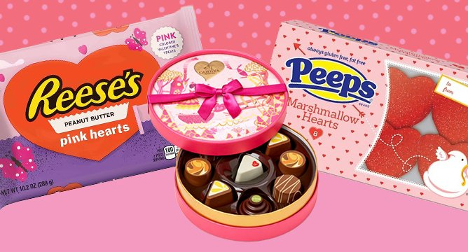 3 New Valentine's Day Candies Better Than a Dozen Roses