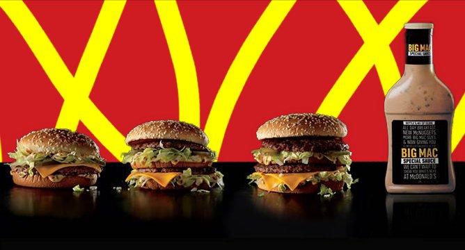 OMG. McDonald's is Handing Out Free Bottles Of Its Secret Sauce