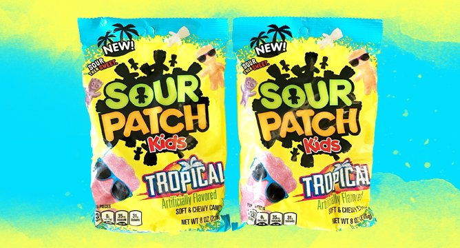 The New Sour Patch Kids Sound Like Paradise