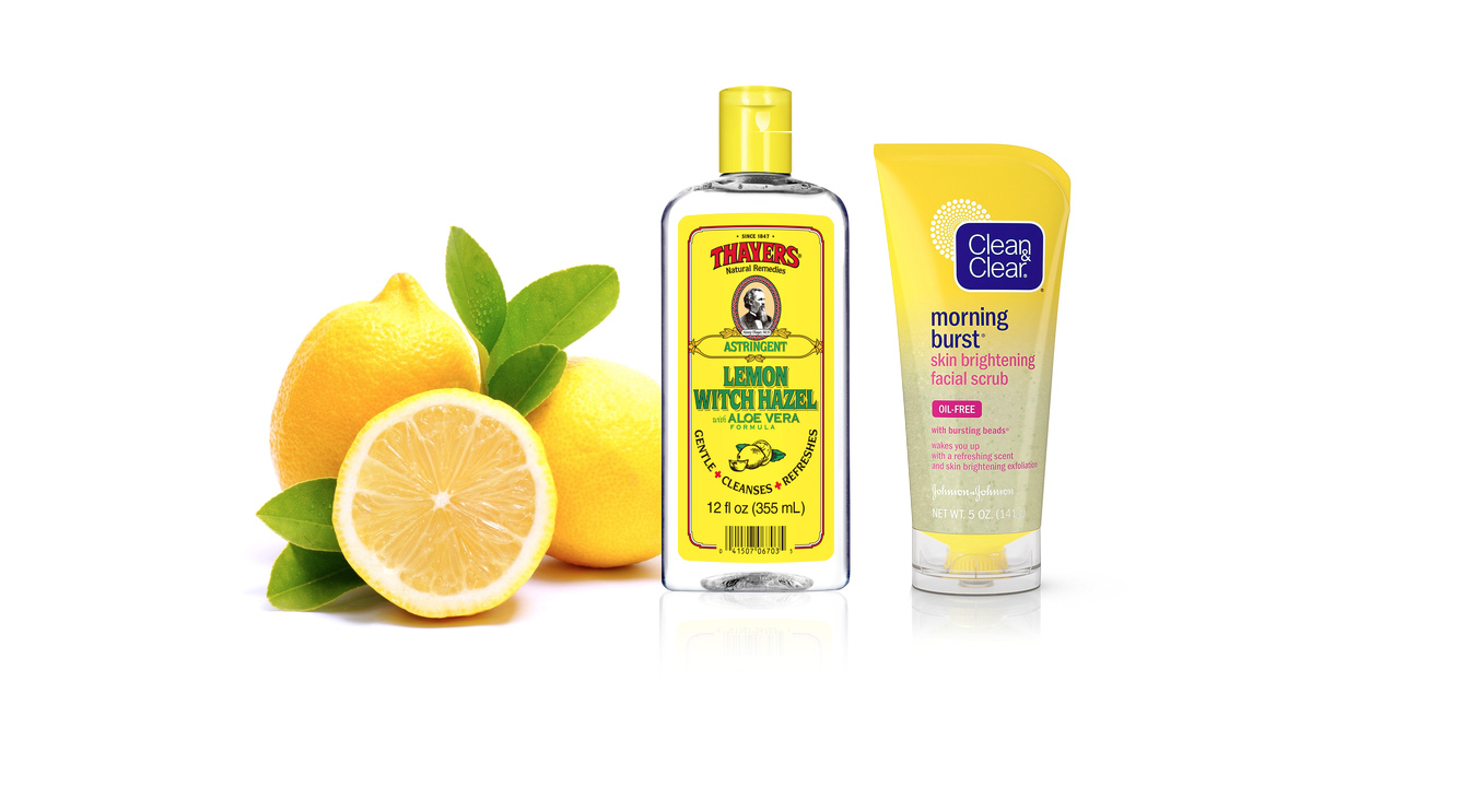 The Best Lemon Skincare