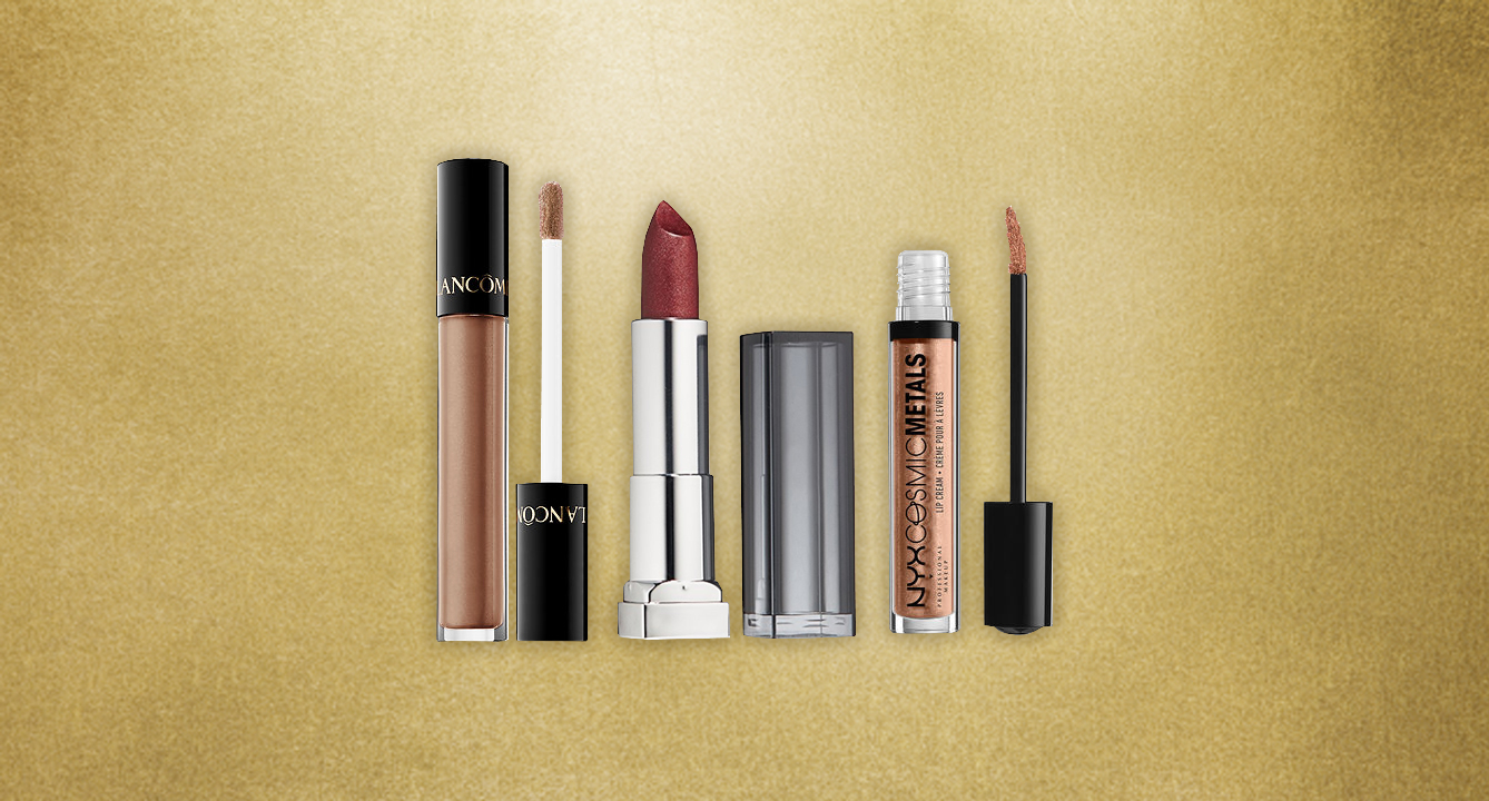 The Best Metallic Lipsticks