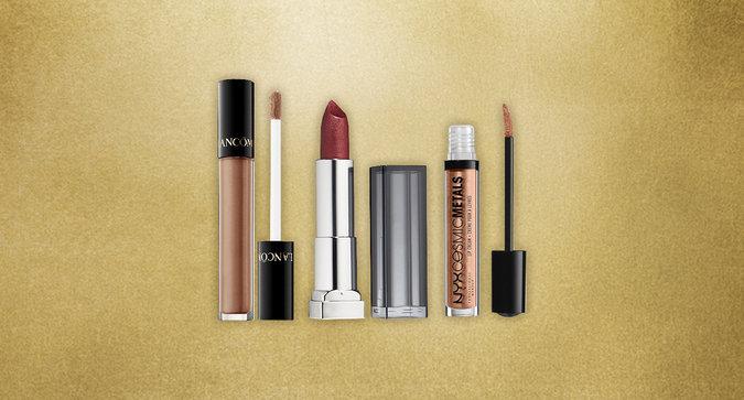 Metallic Lipsticks to Shine Through the Weekend