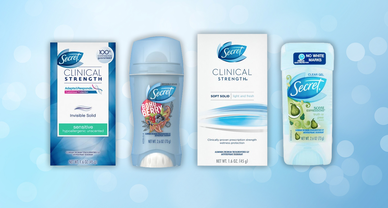 Which Deodorant Is Your Secret Soulmate?