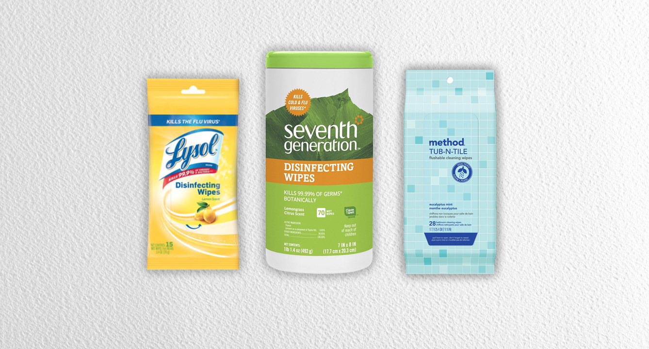 The Best Disinfecting Wipes: 345K Reviews