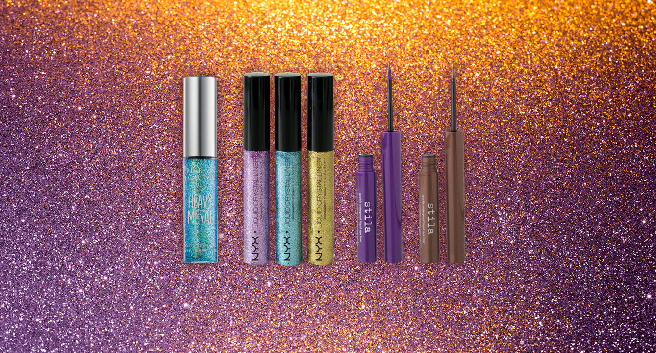 Influensters' Favourite Glittery Eyeliners