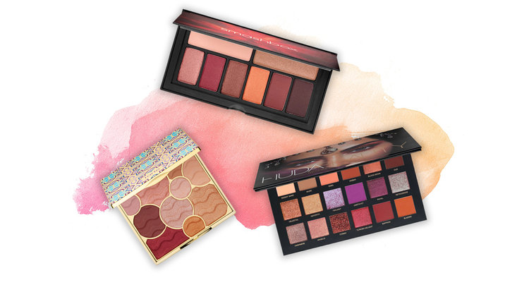 5 Palettes to Help You Master the Red Eyeshadow Trend