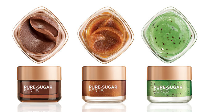 L'Oréal Pure-Sugar Scrubs Are Here to Save Your Skin