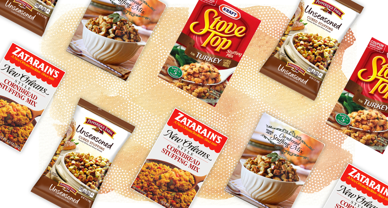 The Best Boxed Stuffing Mixes