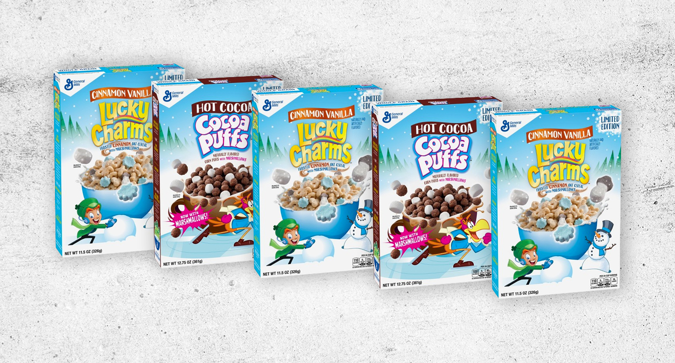 These Two Cereals Got Winter Makeovers