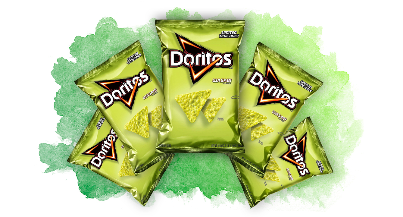 Let's Discuss: Wasabi Doritos