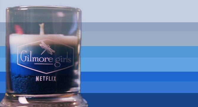 Netflix Just Dropped a Gilmore Girls Binge Candle