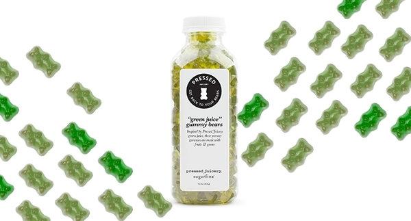 Green Juice Gummy Bears are the New Rosé Gummies