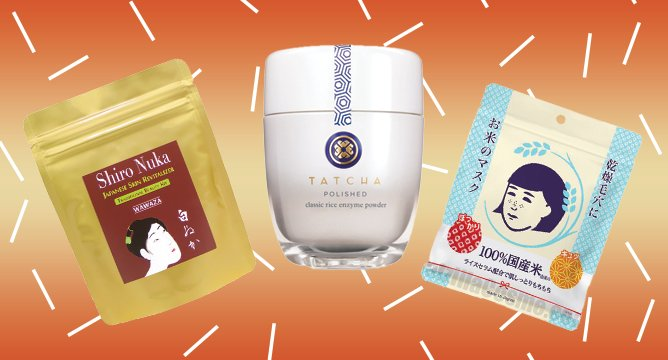 Beauty Around the World: Rice-Infused Products in Japan