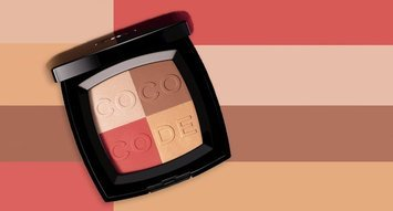 Chanel's Rubik's Cube Blush for Spring 2017 is Genius