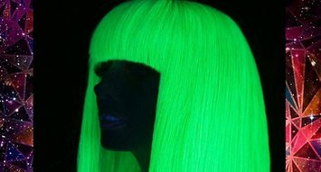 Insta Trend: Glow-in-the-Dark Hair