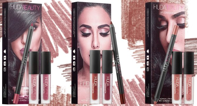 Huda Kattan's New Lip Contour Sets Are Everything